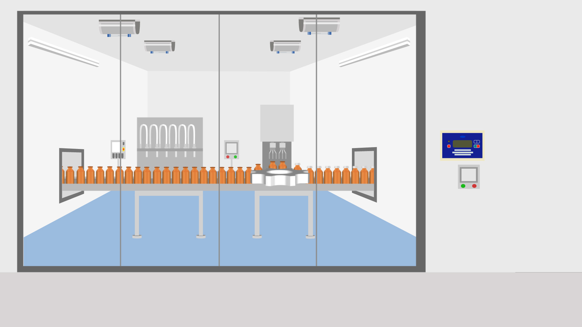 Pharmaceutical production