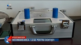 Use of pulsed ultraviolet unit in dental clinics in Romania